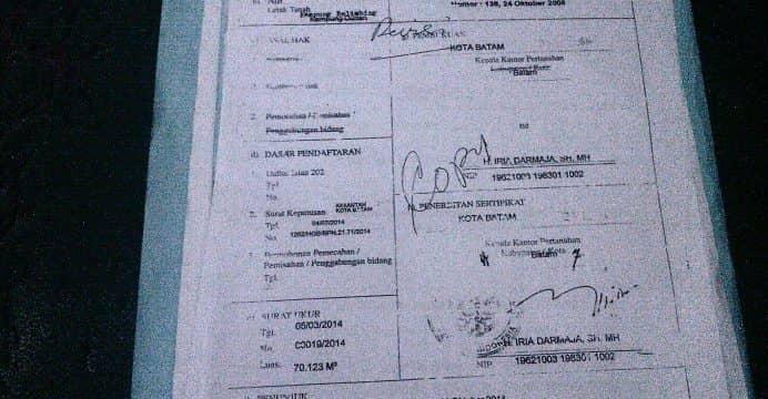 Photo of Legalitas Dan Harga Kavling Dipertanyakan, Siapa Bertanggung Jawab?