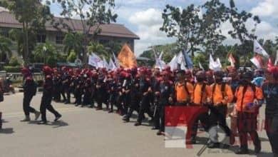 Photo of Terkait Kenaikan Harga BBM Dan Sembako Serta Listrik, Buruh Lakukan Demo