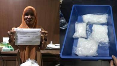 Photo of Lewat Bandara Hang Nadim Seorang Wanita Selundupkan Sabu 849 Gram Hingga Ditangkap Petugas