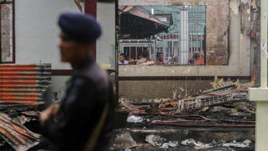 Photo of Menhumkam Belum Memberi Keterangan Pers Terkait Rusuh Dan Pembakaran Di Rutan